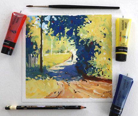 Summer Lane Gouache Painting.jpg