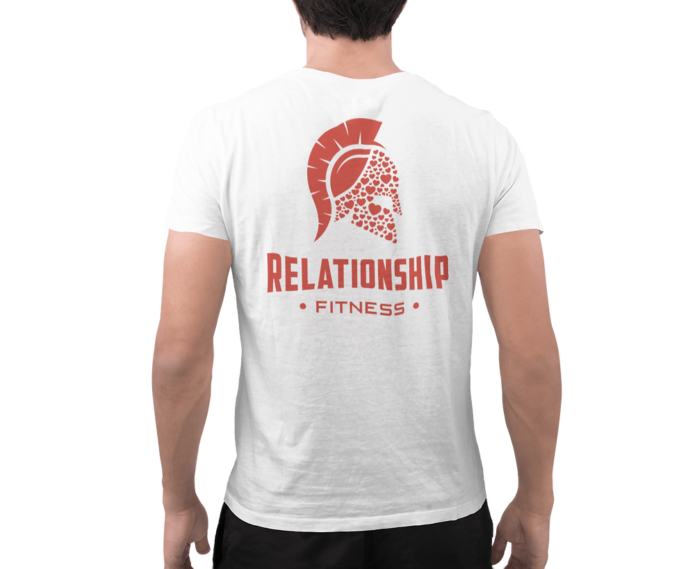Relationship Fitness Red Spartan Shirt