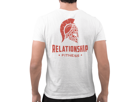Relationship Fitness Red Spartan Tee