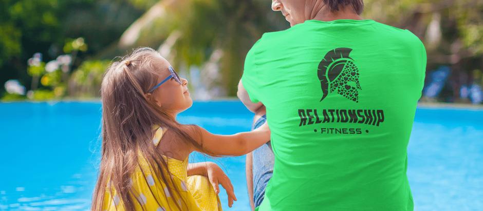 Relationship Fitness - Black Spartan Tee