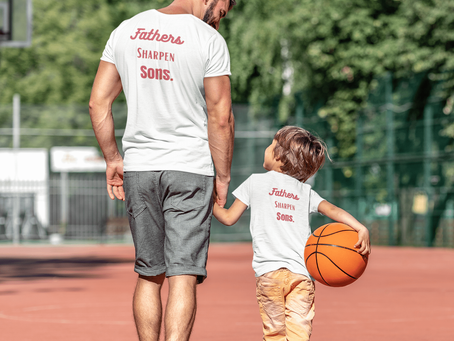 Fathers Sharpen Sons - Tee