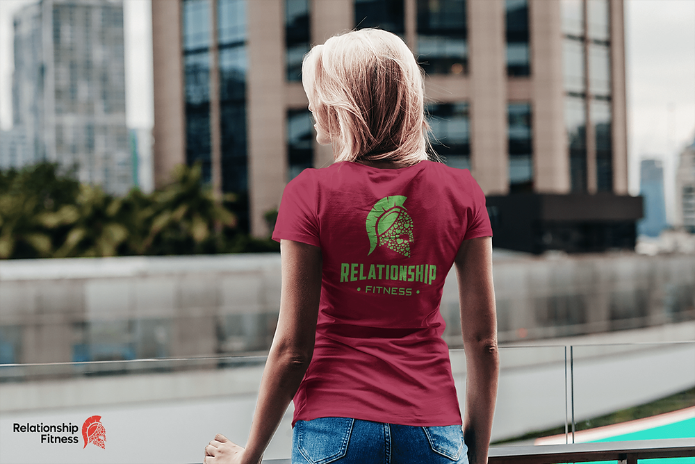 Relationship Fitness - Green Spartan Tee