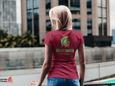 Relationship Fitness - Green Spartan Tee