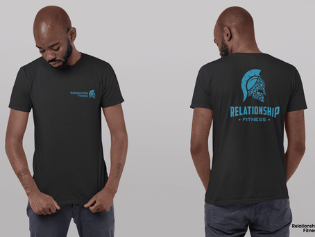 Relationship Fitness - Blue Spartan Tee