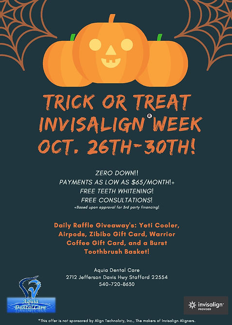 Aquia Dental Care Updated Halloween Flye
