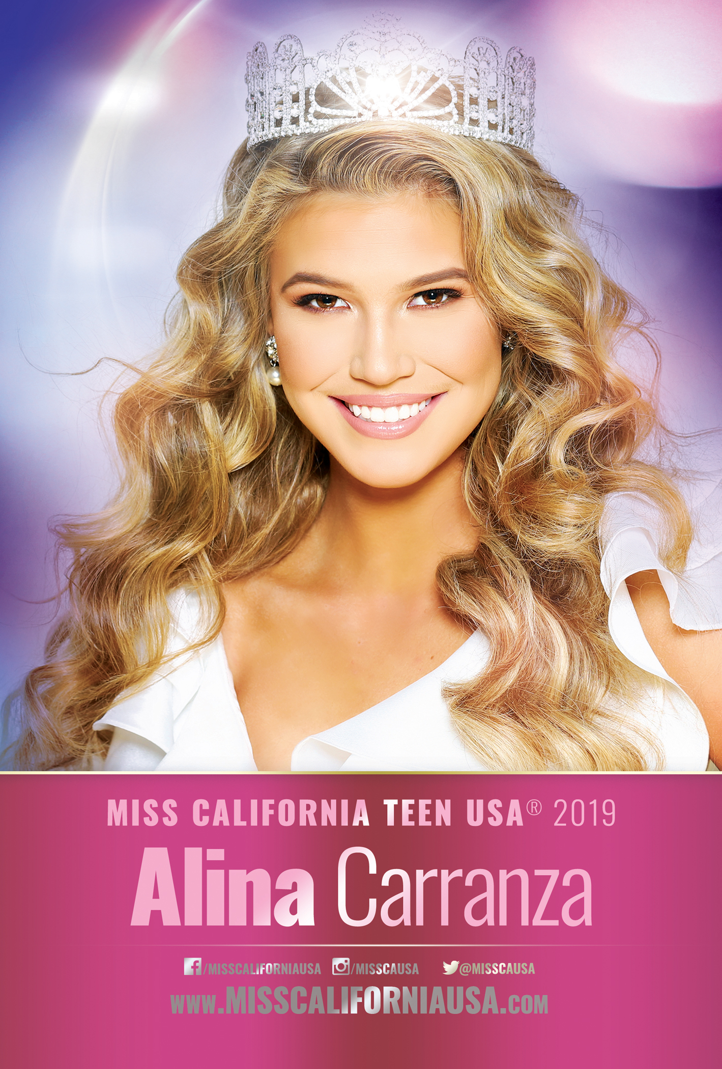 Autograph Card CA USA TEEN 6X9 - PRINT O