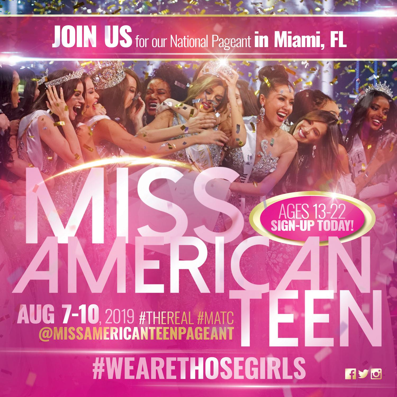 Miss American Teen IG Promo