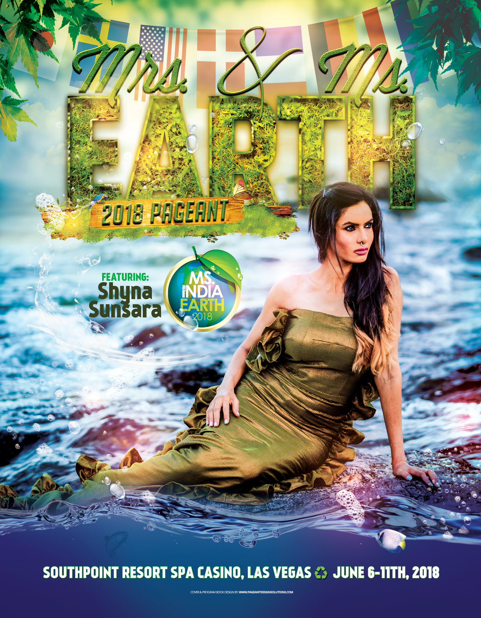 MS MRS EARTH 2018 FRONT COVER - Shyna
