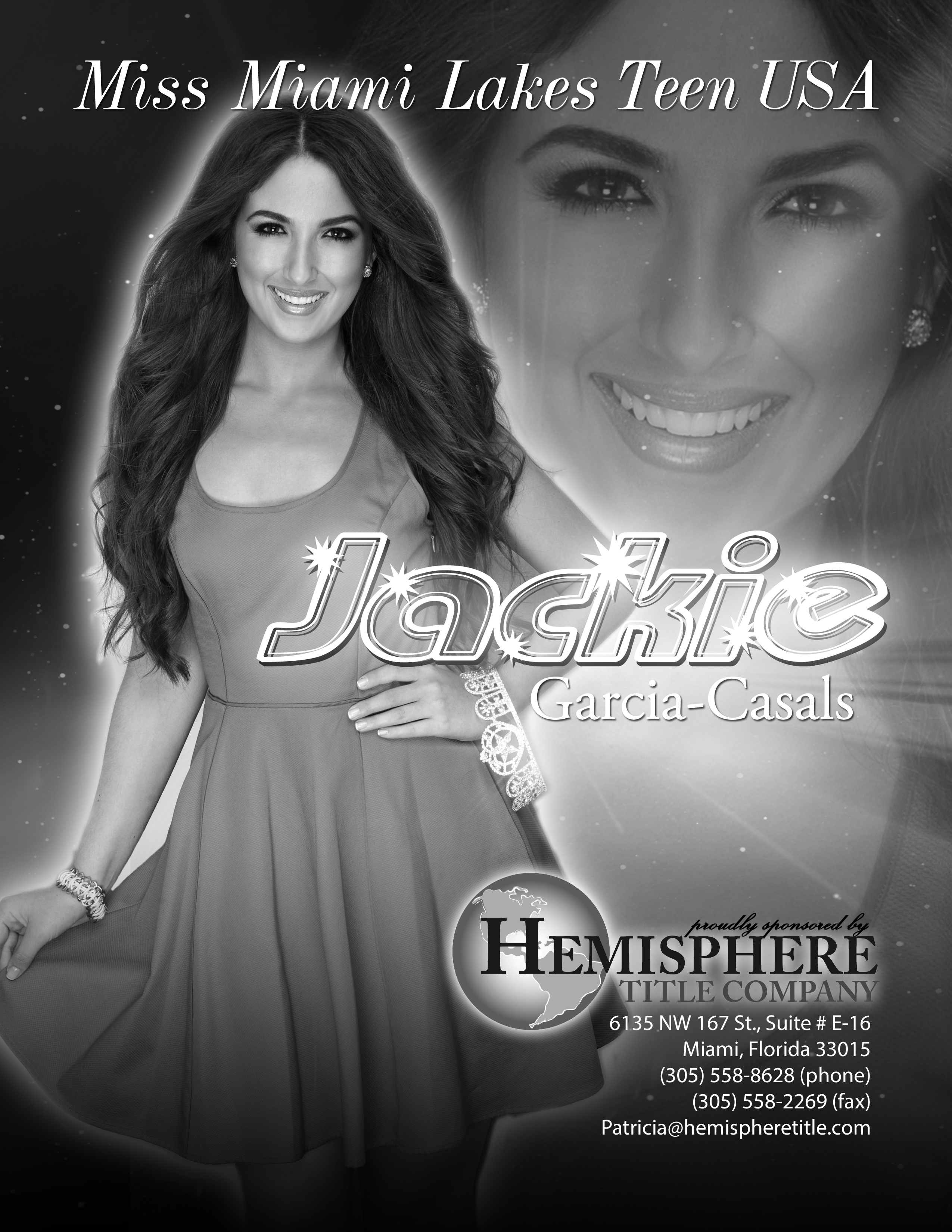 JACKIE CASALS / MISS MIAMI LAKES USA