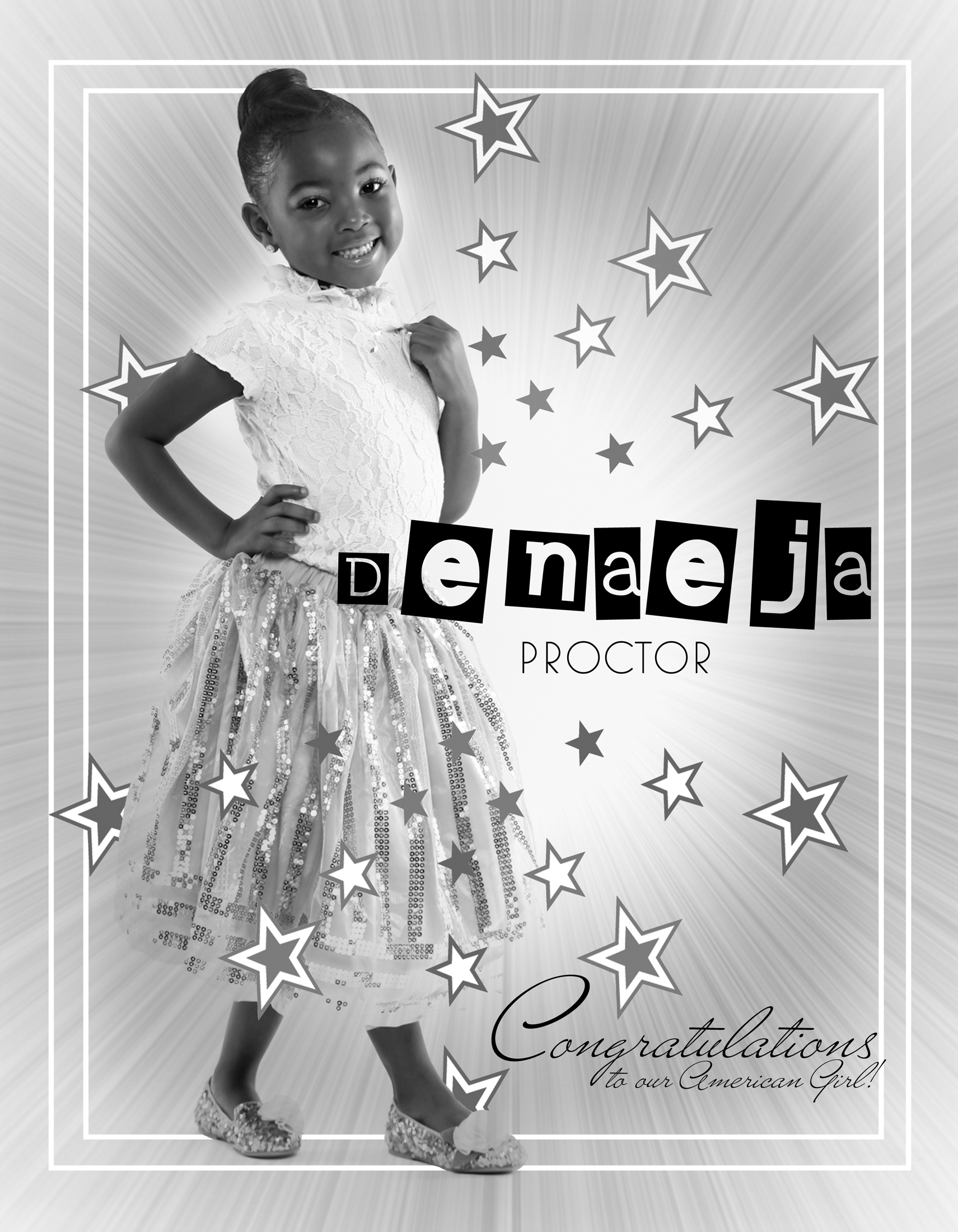 DENAEJA PROCTOR / MISS LITTLE HAWAII