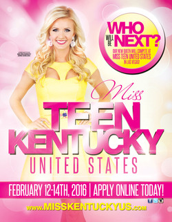 Miss Kentucky United States Promo Flyer