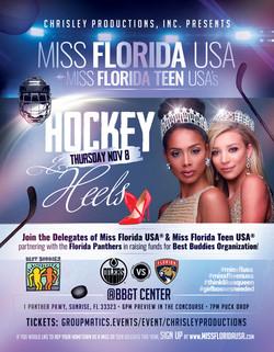Hockey And Heels Flyer
