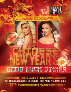 CA USA Chinese New Year Flyer