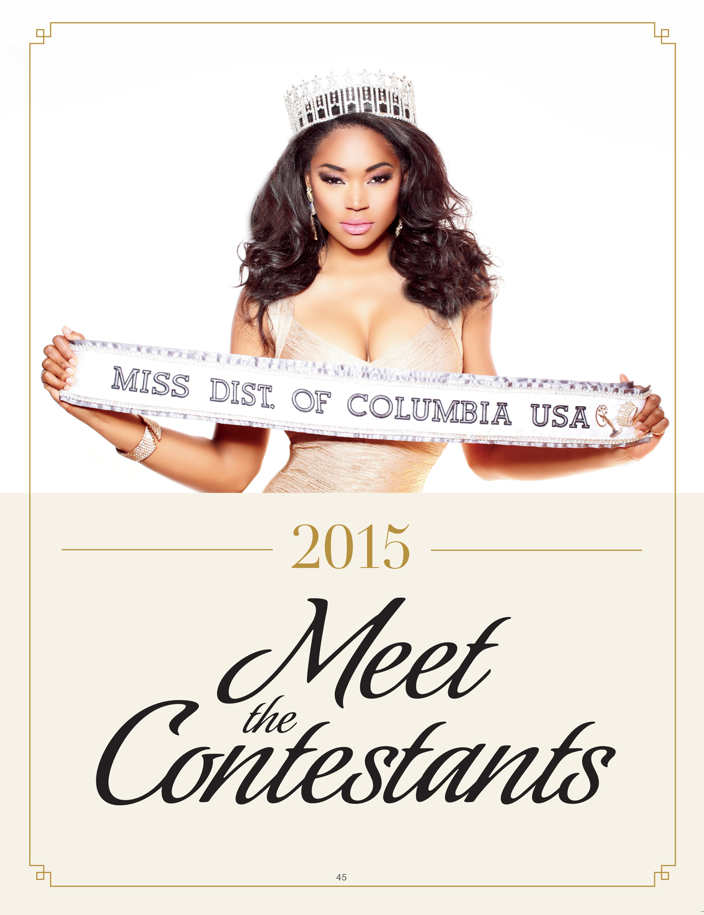 "Miss DC USA ""Meet The Contestants"""