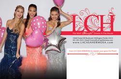 Pageant Promo Item Design