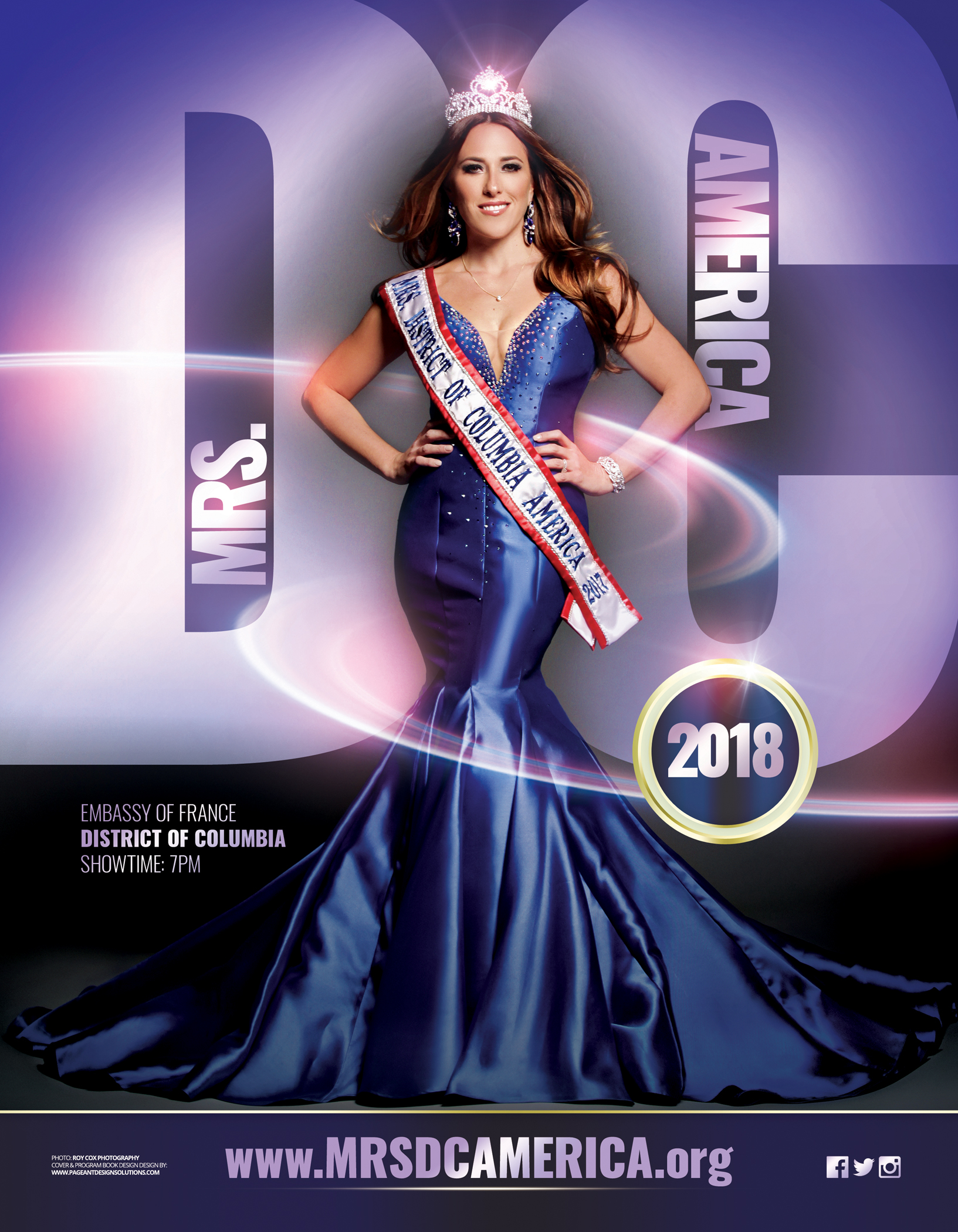 MRS DC AMERICA 2018 FRONT COVER