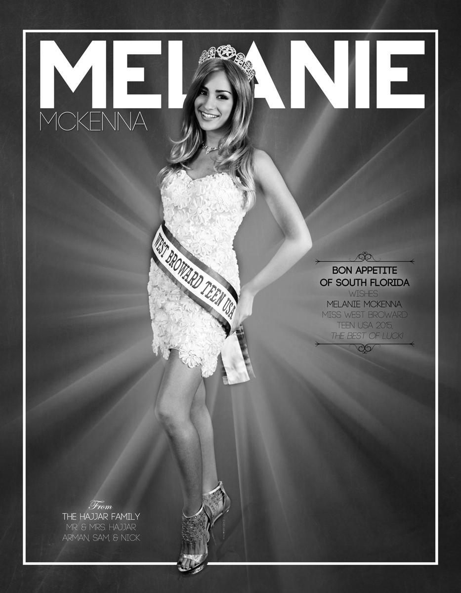 MELANIE MCKENNA / MISS WEST BROWARD