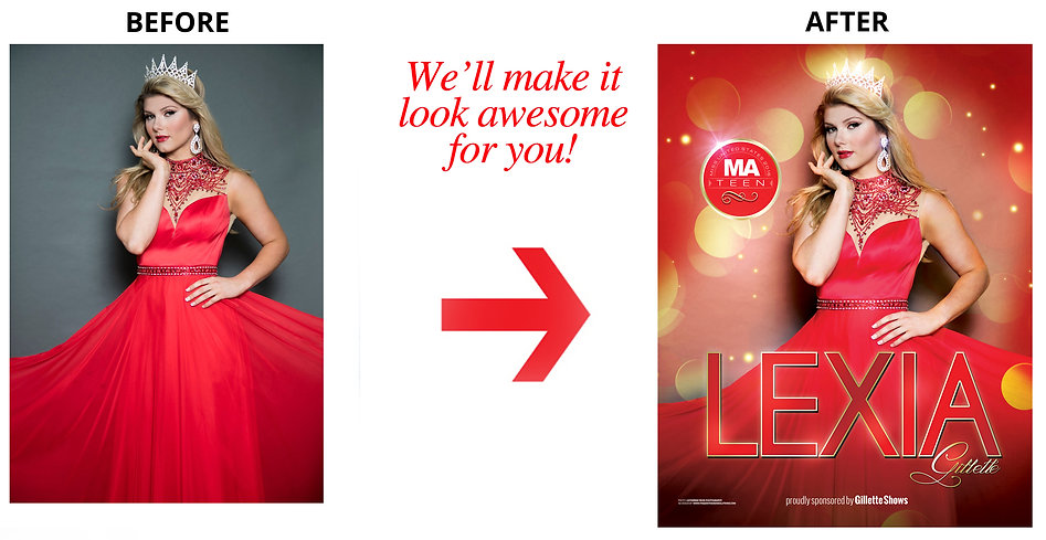Pageant Ad Design #AWESOMEpageantADS