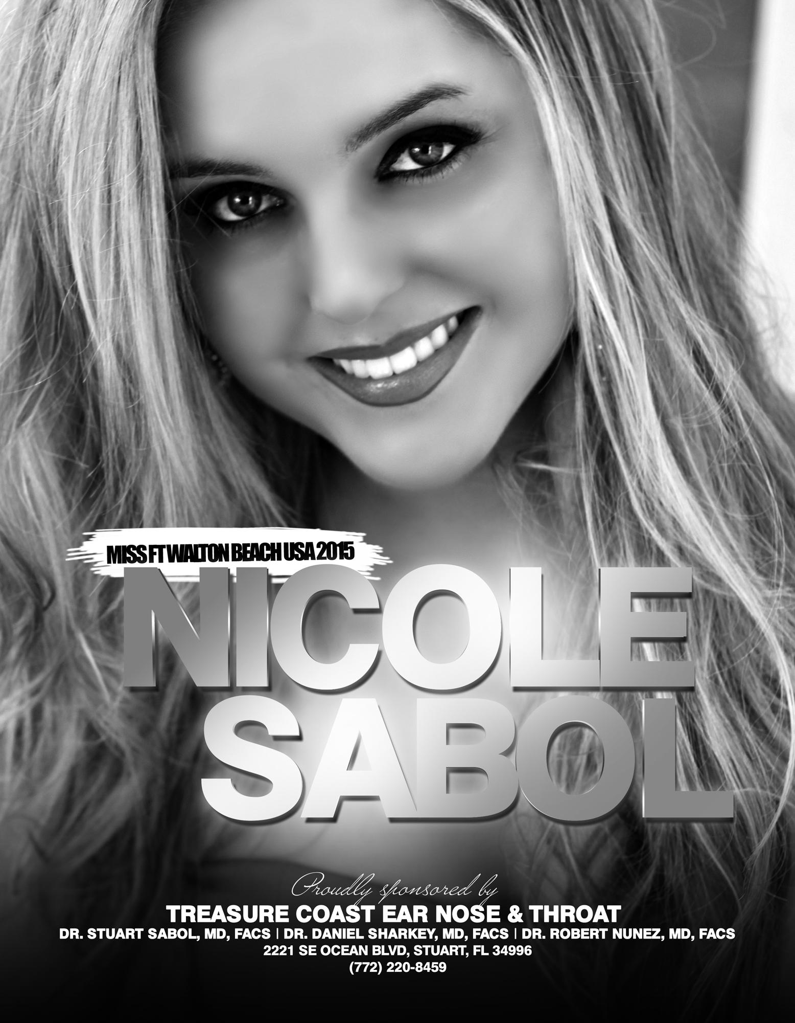 NICOLE SABOL / MISS FT. WALTON BEACH