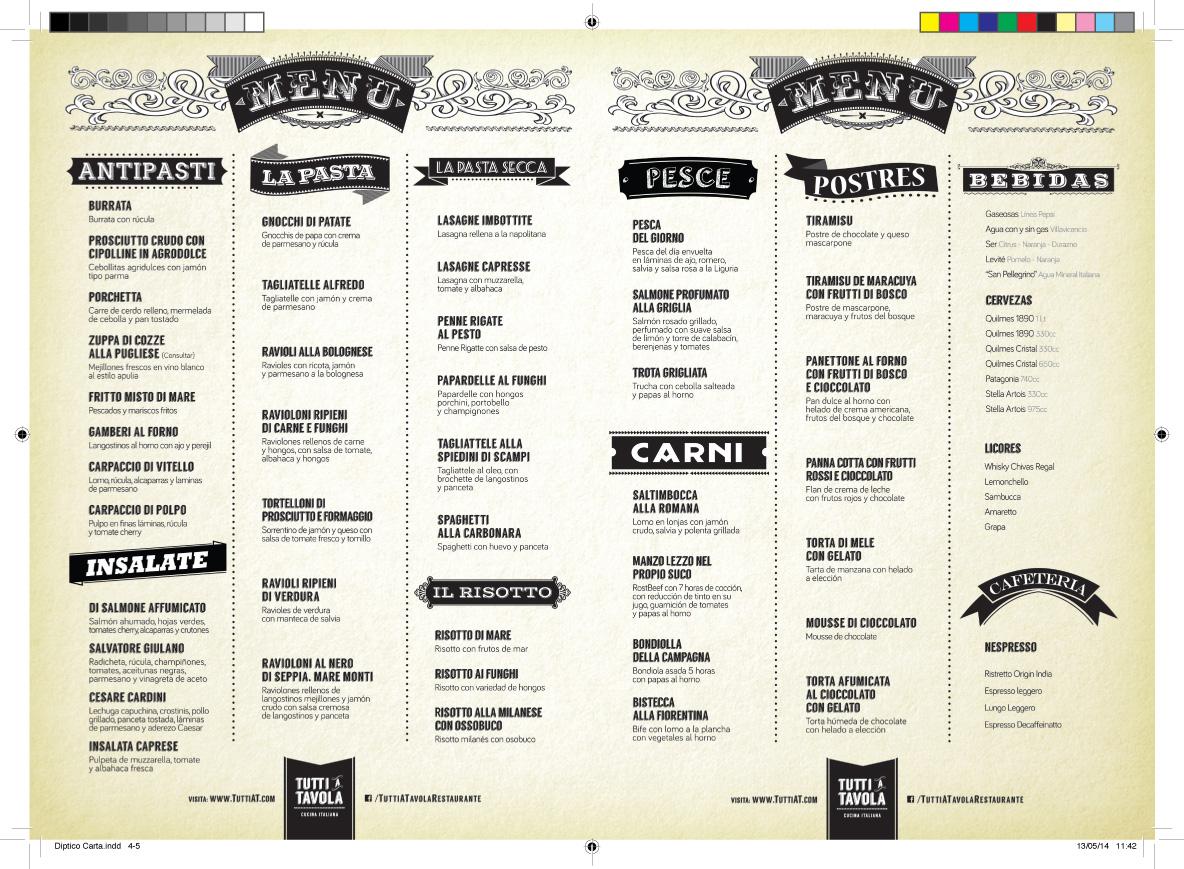 TaT-2 menu