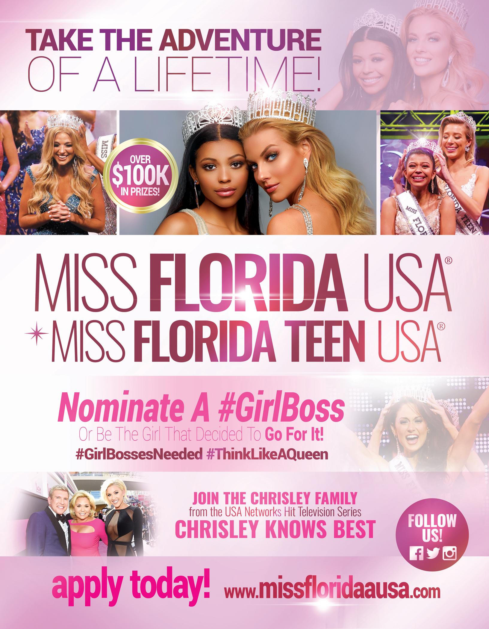 MISS FL USA 2019 RECRUITMENT FLYER
