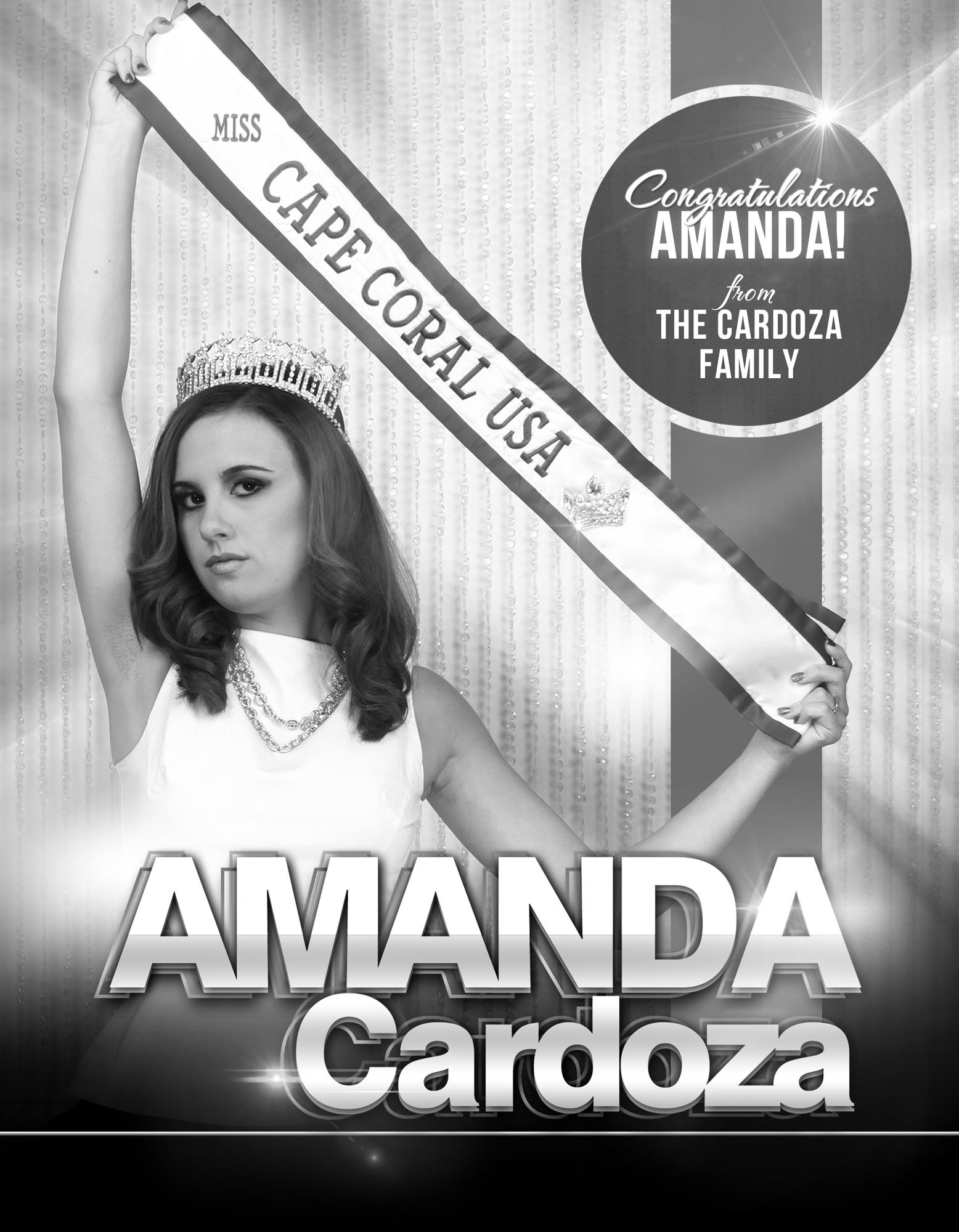AMANDA CARDOZA / MISS CAPE CORAL