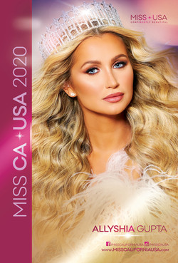 MISS CA USA 2020 Autograph Card