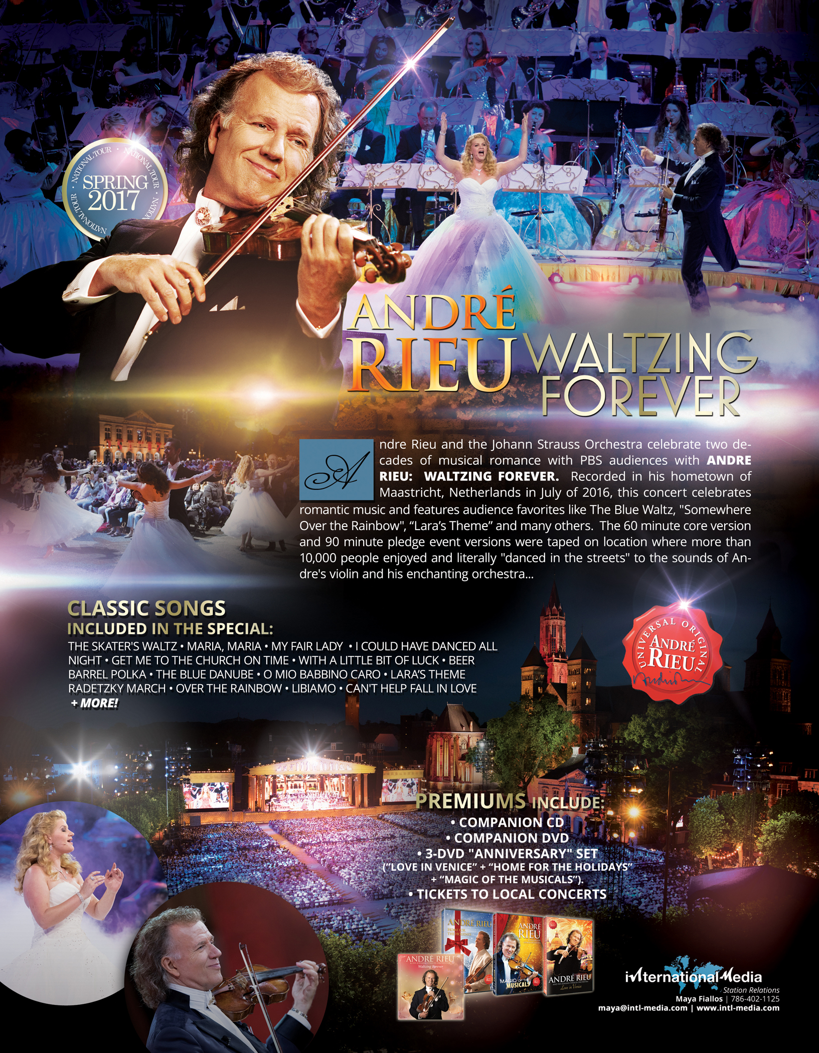 ANDRE RIEU One-Sheet