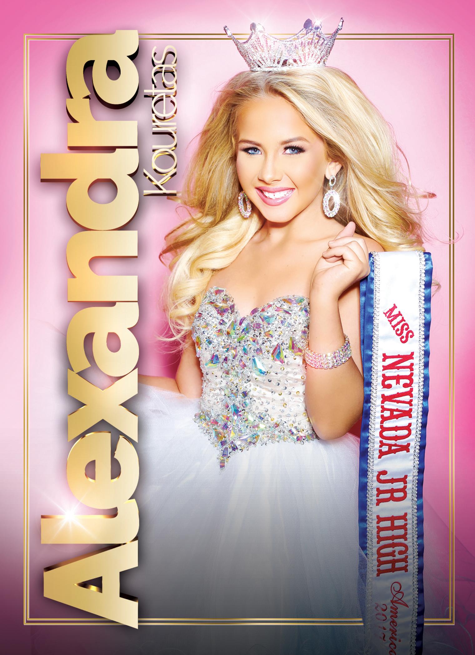 Kouretas, Amanda 5 X 7 Promo Card FRONT.