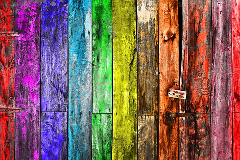 Close up of an old colorful door .jpg