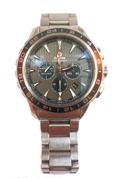 Omega Seamaster Aquaterra GMT