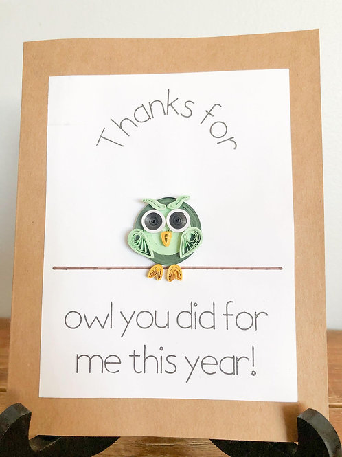 Thank You Owl