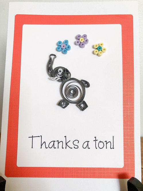 Thanks a Ton Elephant