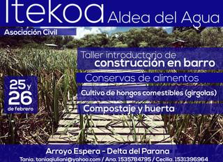 Taller Introductorio en ITEKOA. ¡En breve anunciaremos la nueva fecha del taller!