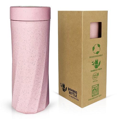 eplanita Pink Bamboo Bottle