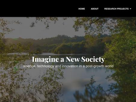Post-doct @ Prospera: 'Imagine a New Society'