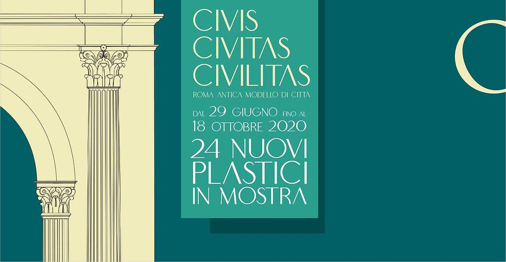 Exhibition leaflet Civis Civitas Civilitas
