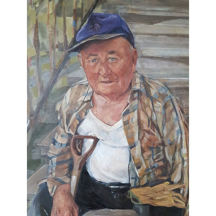 painting of grandpa