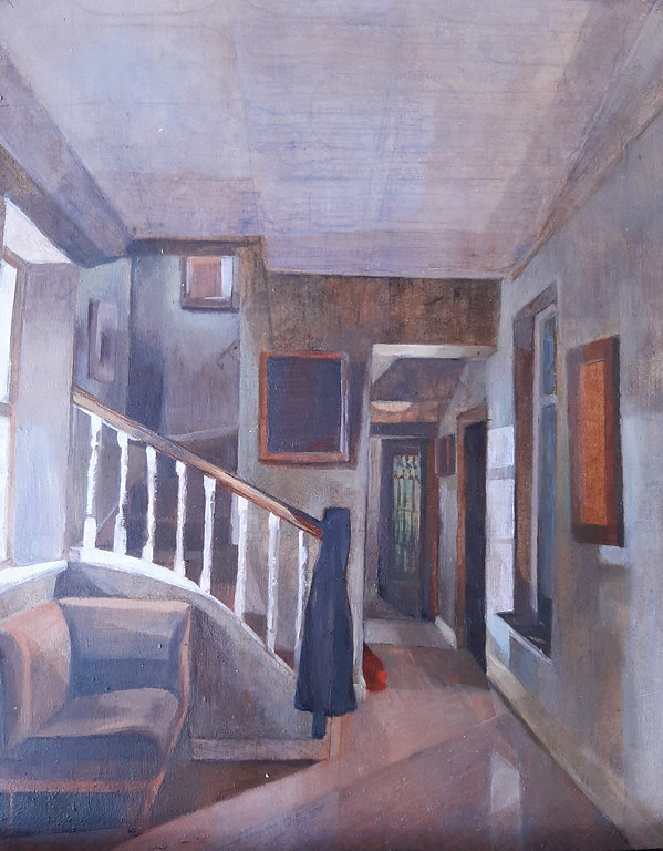 Painting of Interior