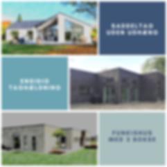 forskellige hustyper af nye typehuse