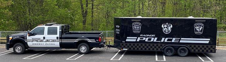 Police Department Trailer