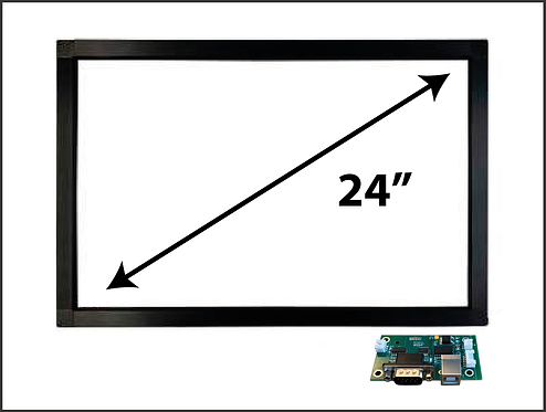 """24"""" INFRAREDED TOUCH GLASS"""