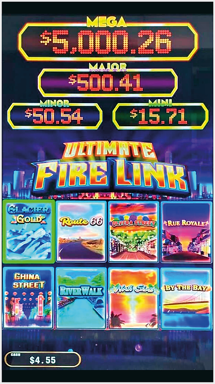 THE ULTIMATE FIRE LINK 8 IN 1