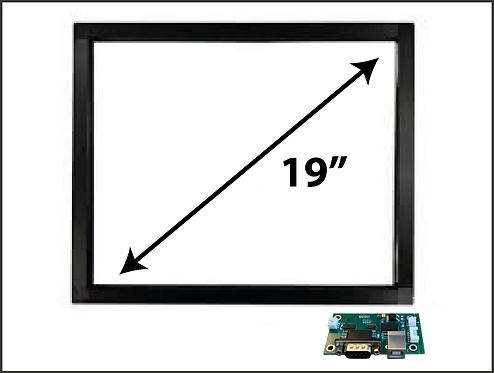 "19""  IR TOUCH GLASS"