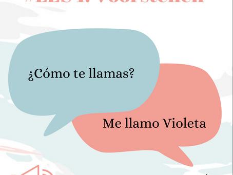 Les 1: Voorstellen in het Spaans