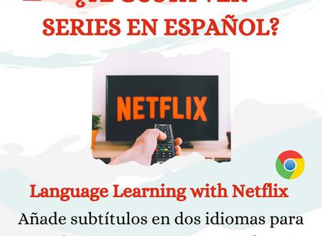 Language Learning with Netflix -Spaans leren met Netflix-