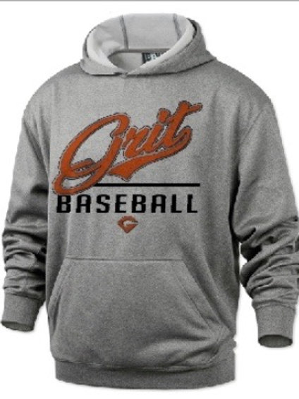 GRIT Baseball Hoodie - Gritty Up