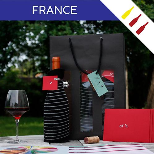 Box France - 3 Bouteilles