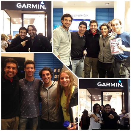 Estuvimos invitados a la inauguración de la nueva tienda Garmin