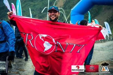 Algunos integrantes de FRONTT Trail se enfrentaron al desafío de Torrencial Valdivia